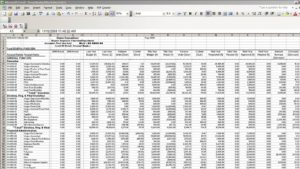 Accounting Budget Export